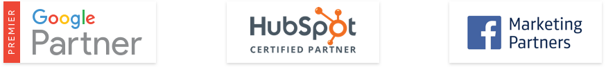 Premier Google Partner | HubSpot Certified Partner | Facebook Marketing Partners